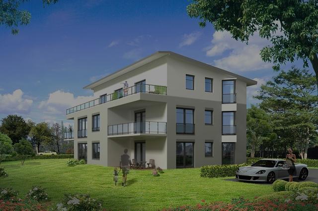 Ein Mehrfamilienhaus eignet sich für Immobilien Investoren, welche einen größeren Betrag investieren möchten